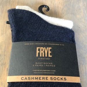Frye cashmere boot socks, women's 5-10, NWT